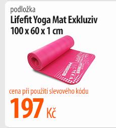 Podložka Lifefit Yoga Mat Exkluziv