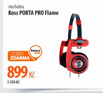 Sluchátka Koss Porta Pro Flame