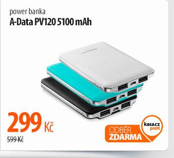 Power banka A-Data PV120 5100 mAh