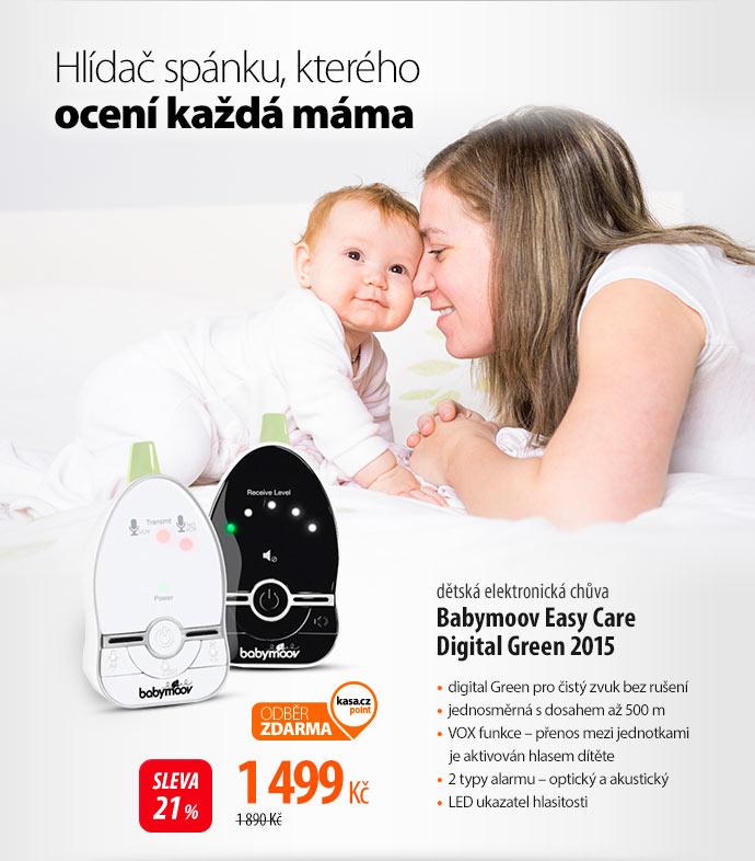 Chůvička Babymoov Easy Care Digital Green