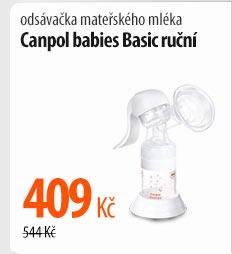Odsávačka mléka Canpol babies Basic