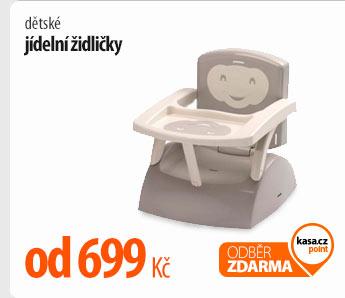 Dětské jídelní židličky