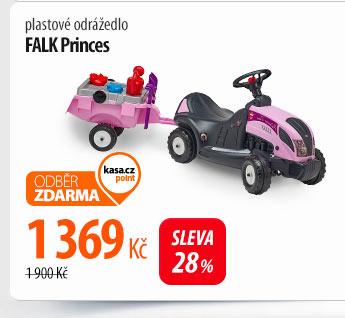 Plastové odrážedlo Falk Princes