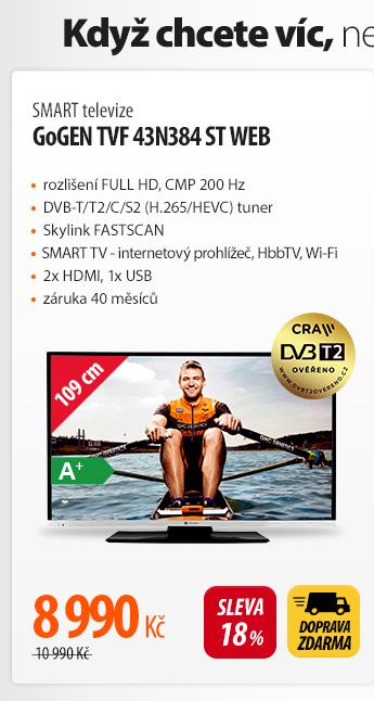 Smart TV GoGen TVF 43N384 ST Web