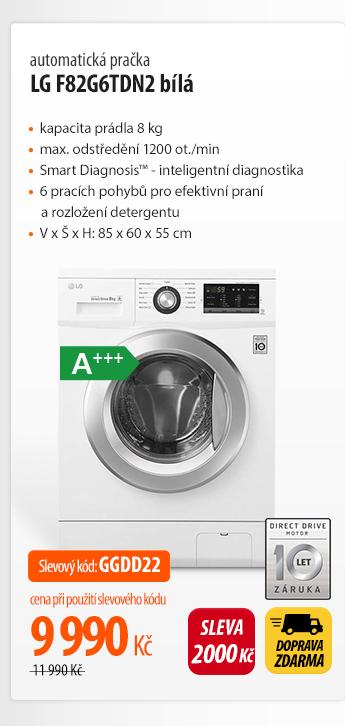 Pračka LG F82G6TDN2