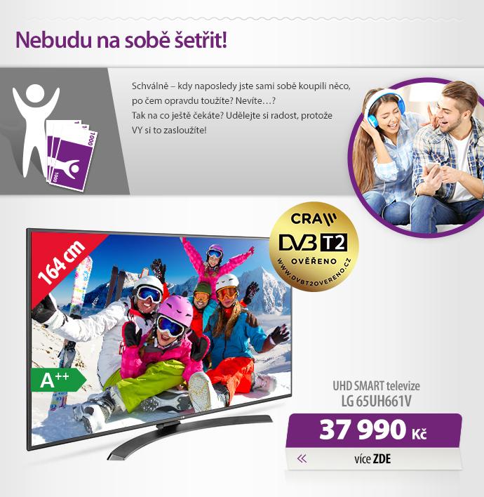 UHD Smart televize LG 65UH661V