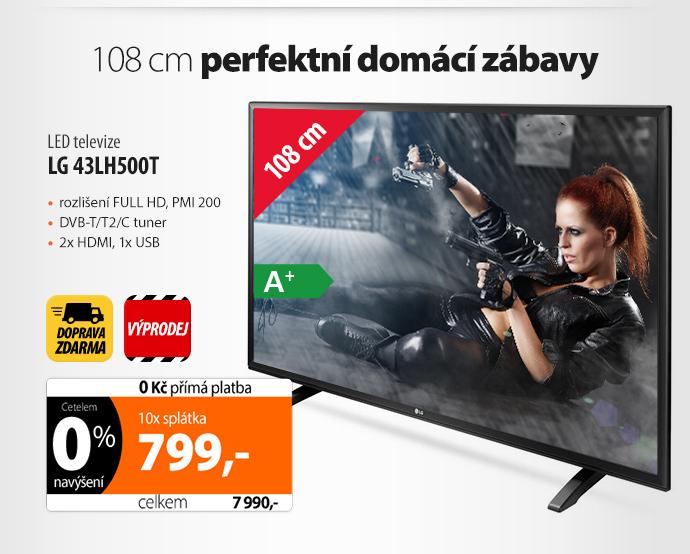 LED televize LG 43LH500T