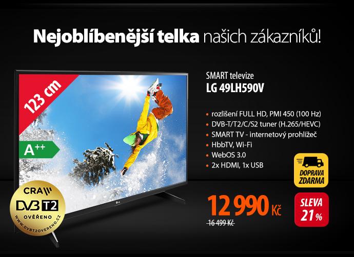 Smart televize LG 49LH590V