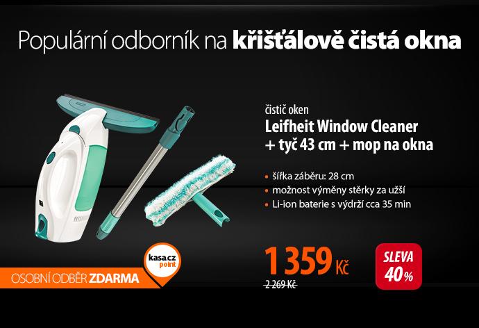 Čistič oken Leifheit Window Cleaner