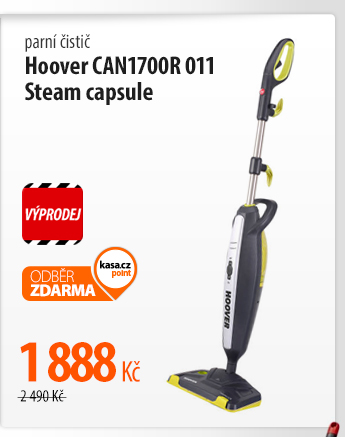 Parní čistič Hoover CAN1700R 011 Steam capsule
