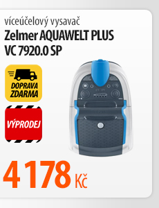 Vysavač Zelmer Aquawelt Plus