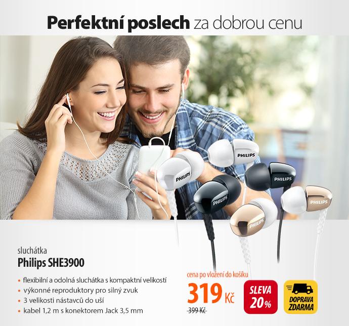 Sluchátka Philips SHE3900
