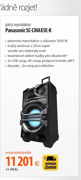 Reproduktor Panasonic SC-CMAX5E-K