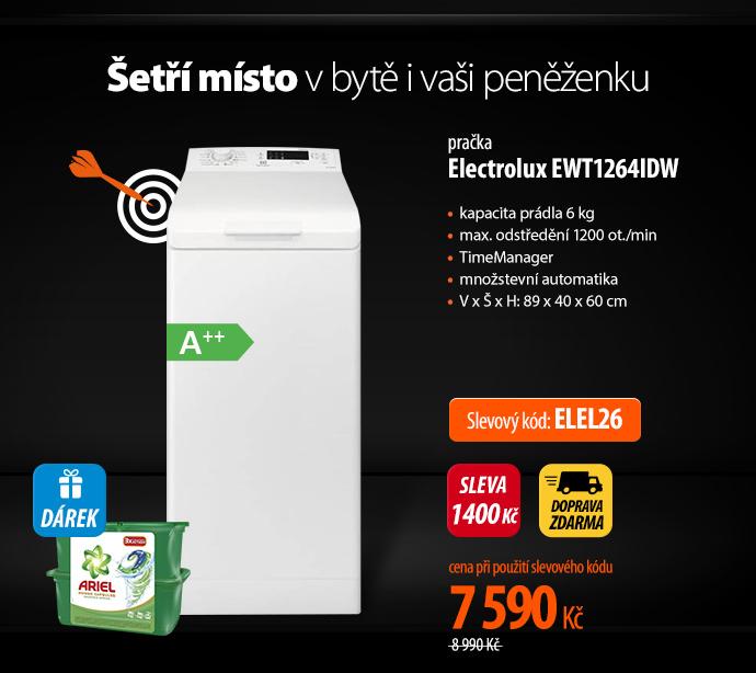 Pračka Electrolux EWT1264IDW
