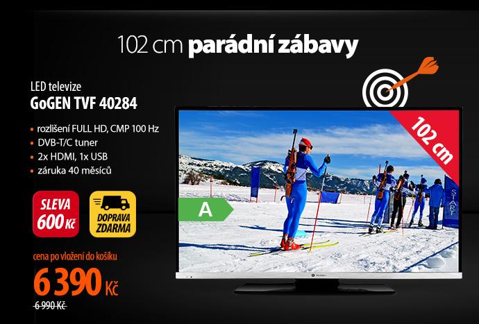 LED televize GoGen TVF 10284
