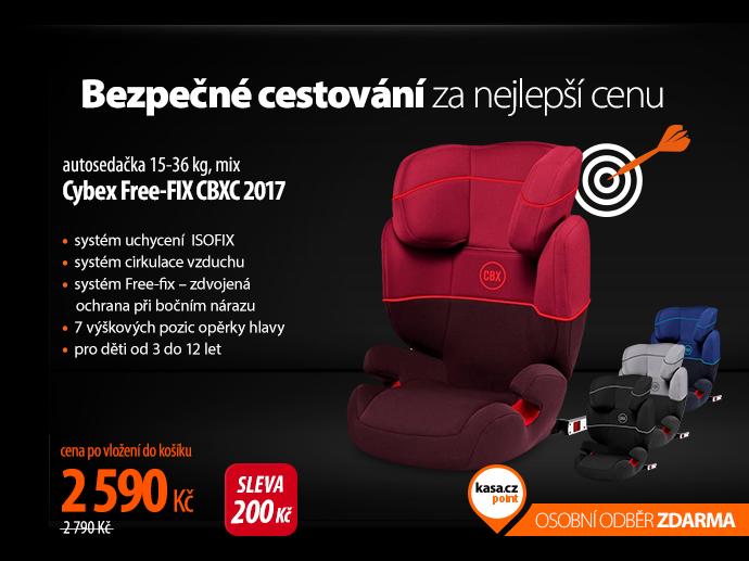 Autosedačka Cybex Free-FIX CBXC 2017
