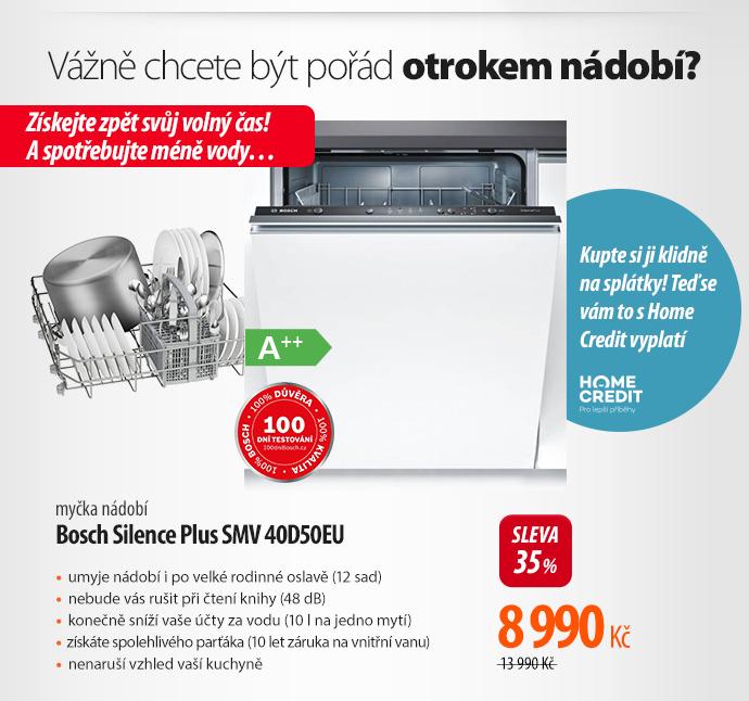 Myčka Bosch Silence Plus SMV 40D50EU