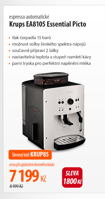 Kávovar Krups EA8105 Essential Picto