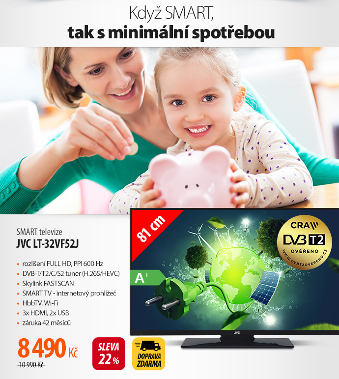 Smart TV JVC LT-32VF52J