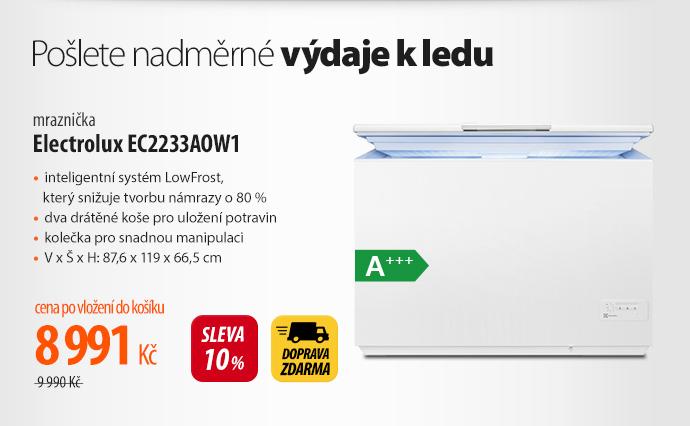Mrazák Electrolux EC2233AOW1