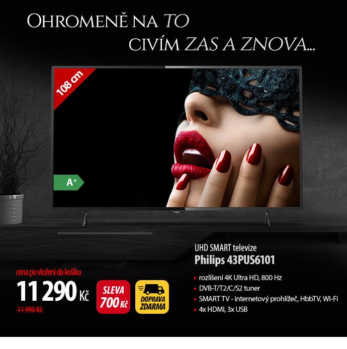 UHD Smart TV Philips 43PUS6101