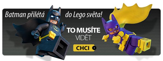 Batman přilétá